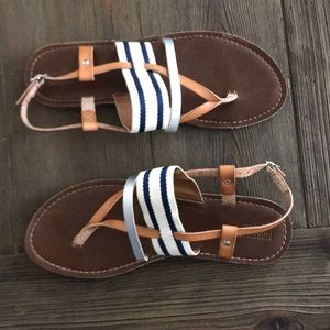 Nautical  summer sandals!!⛱